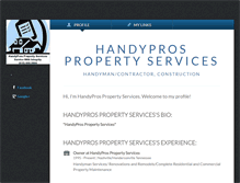 Tablet Screenshot of handyprospropertyservices.brandyourself.com